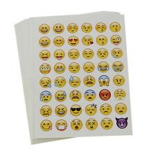 20 Sheets Die Cut Phone Emoji Sticker Decal for Diary Book Cards Scrapbook