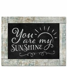 """YOU ARE MY SUNSHINE Primitive Wood Hanging Sign 8.75"""" x 11.5"""""""
