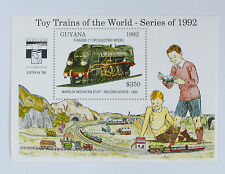 Guyana 1992,Eisenbahn_Modellbahn (Toy trains of the world),Märklin Dampflok