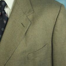 REPP Ltd Mens 58 R Hopsack Woven Silk Worsted Wool Blazer Sportcoat Jacket EXC