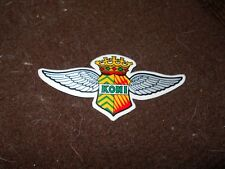 KONI SHOCK SHOCKS VINTAGE WINGS LOGO DECAL STICKER FORD CHEVROLET DODGE GM NICE