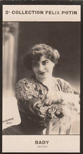 Berthe Bady Actrice France Belgique CARD IMAGE 1907