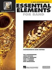 Essential Elements for Band Eb Alto Sax Book 1 with EEi and Media Online 862572