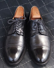 Saks 5th Ave Italian (Santoni?) Black Calfskin Cap-Toe Oxfords.9M. A STEAL. $599