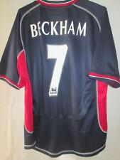 Manchester United 2000-2001 Away Beckham 7 Football Shirt Size Medium /34619