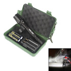 Zoom G700 X800 8000LM XML T6 LED Tactical 18650 Flashlight Torch Light Lamp Lot