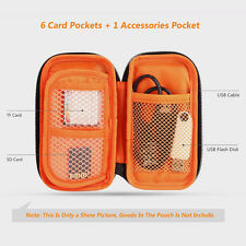 Camera SD TF Memory Card Case USB Cable Flash Disk Pouch Holder Carry Bag Wallet