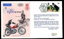 GB RAF C66 To London 1980 by Cycle Gazelle HT3 XW 855