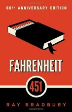 Fahrenheit 451: A Novel by Ray Bradbury (Reissue edition) 249 pages [Paperback]