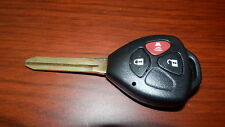 Remote Uncut Key Shell Keyless fits Toyota RAV4 SCION XB TC XD