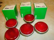 Land Rover Military - Red - Stop / Tail Lamp Lens X 2 - NEW