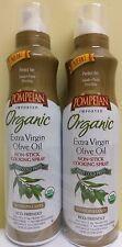 Pompeian Organic Extra Virgin Olive Oil Non-Stick Cooking Spray, 2 Pk - 5 oz Ea