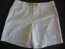 Chaps White Bermuda Walking Short Ladies Size 4