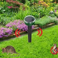 RÉPULSIF ANTI-NUISIBLE SOLAIRE ULTRASON RAT SOURI TAUPE SOLAR RODENT REPELLER