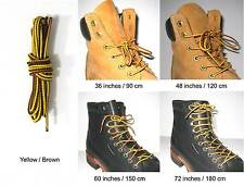 Agletless hiking boot laces work boot laces strings (6 colors/4 length)