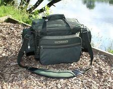 Deluxe Green Saber Supra Multi Pocket Carryall Holdall Carp Fishing Bag SL7