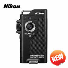 New! NIKON KeyMission 80 Waterproof, shockproof and freezeproof wearable camera
