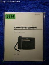 Sony Bedienungsanleitung IT F20 Komforttelefon (#3314)