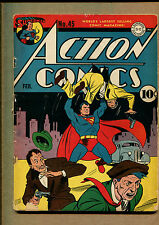Action Comics #45 - Superman! - 1941 (Grade 4.0) WH