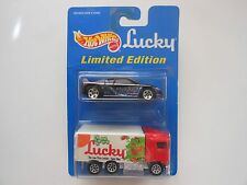 Hot Wheels Lucky 2-Pack Hiway Hauler and Zender Fact 4