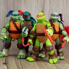 2016 Newest Teenage Mutant Ninja Turtles TMNT 4PCS Set Action Figures Toy Dolls