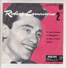 Robert LAMOUREUX Vinyl 45T EP N°2 LA VOITURE D'OCCASION -PHILIPS 432070 F Rèduit