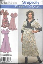 Ladies plus size 18-24 sewing pattern uncut Simplicity 4050 short sleeve dress