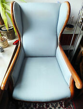 Biedermeier Thron Ohren Sessel Armlehn Sitz Möbel Wing Chair ARMCHAIR antik anti