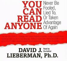 NEW 3 CD You Can Read Anyone Never Be Fooled, Lied To.... David Lieberman