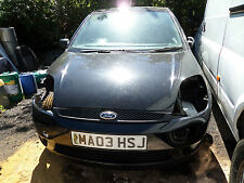 Ford Fiesta mk6 PANTHER BLACK 1.25  BREAKING SPARE side repeater 3  DOOR 3 DR