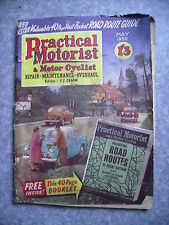 Vintage Practical Motorist & Motor Cyclist Magazine May1958