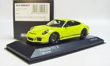 "1:43 MINICHAMPS 2016 PORSCHE 911R 991 II ""ALMOST REAL"" Light Green LE 233 pcs."