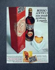 K407- Advertising Pubblicità -1975- ROSSO ANTICO