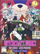 WITCH CRAFT WORKS The Complete Anime TV Series Ep.1 - 12 End DVD Box Set