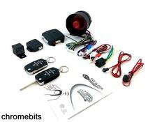 CAR SECURITY ALARM CENTRAL LOCKING SYSTEM + 2 HA KEYS FOR VW GOLF MK4 MK5 POLO