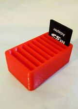 SD Memory Card Desk Tidy Storage Box - 9 SLOTS! *UK Manufactured*