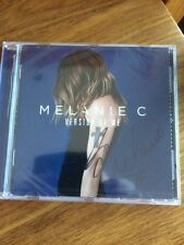 MELANIE C - VERSION OF ME -  SIGNED CD - NEW - SEALED spice girls