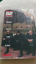 Run DMC cassette single cassingle Rap Hip Hop htf oop Down With The King 1993 CS