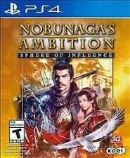 NEW Factory Sealed in Box Nobunaga's Ambition: Sphere of Influence (PS4, 2015)