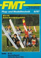 FMT8708 Bauplan MT-955 Kunstflugmodell GOTTFRIED STURZ NUMMER SIEBEN + FMT 8/87