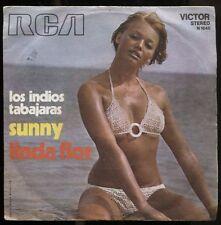 """LOS INDIOS TABAJARAS SUNNY + LINDA FLOR 1971 ITALY 7"""" 45 GIRI"""