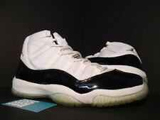 2005 Nike Air Jordan XI 11 Retro DMP WHITE BLACK GOLD CONCORD 136046-171 11.5