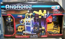 ANDROIDZ POWER DRILL ZONE BONUS PLAYSET W/VEHICLE & 3 ROBOTS TOYS R US EXCLUSIVE