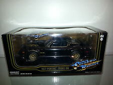 1/24 GREENLIGHT HOLLYWOOD SMOKY AND THE BANDIT 1977 PONTIAC TRANS AM BLACK