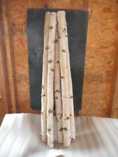 "White Birch-5 Poles/Log - 2.5"" to 3"" D x 4 ft"