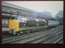 POSTCARD DELTIC LOCO NO 55002 'KINGS OWN YORKSHIRE LIGHT INFANTRY'