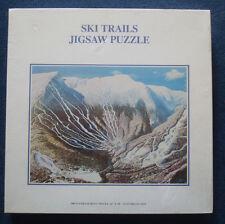 jigsaw puzzle ski trails snow mountain Norton & Williams Development Co 500 pc