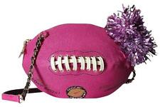 Betsey Johnson What a Score Crossbody Bag, Fuchsia BJ59985P Football Purse