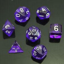 MTG Purple 7 Sided Die D4 D6 D8 D10 D12 D20 DUNGEONS &DRAGONS D&D RPG Dice Set