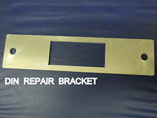 Car radio Dash Repair Plate For DIN Size Cut to the dash, Great for CLASSIC Cars
